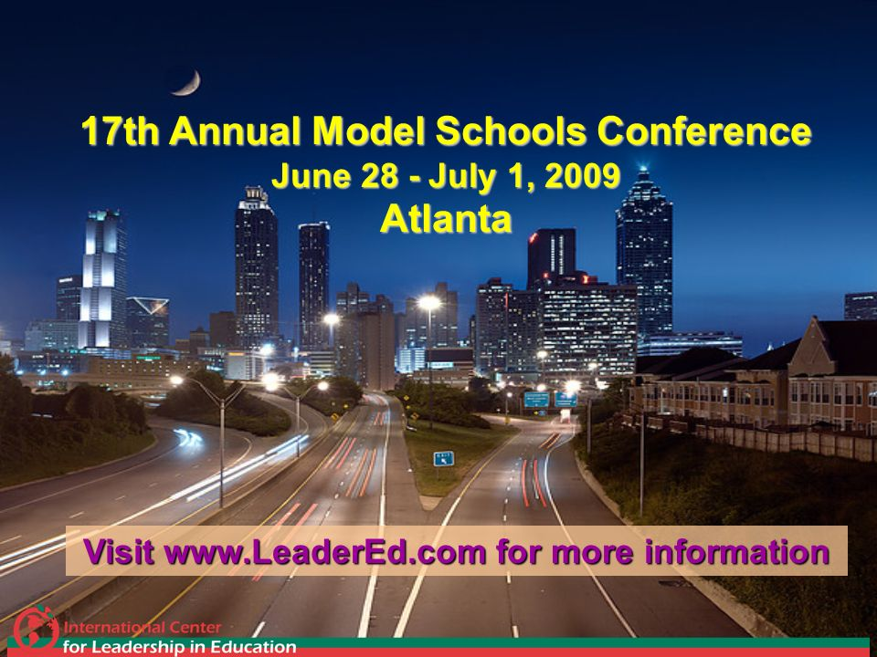 17th Annual Model Schools Conference