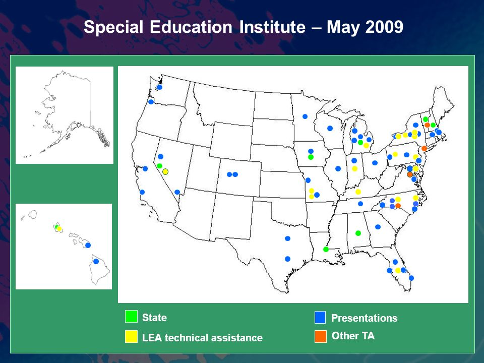 Special Education Institute – May 2009