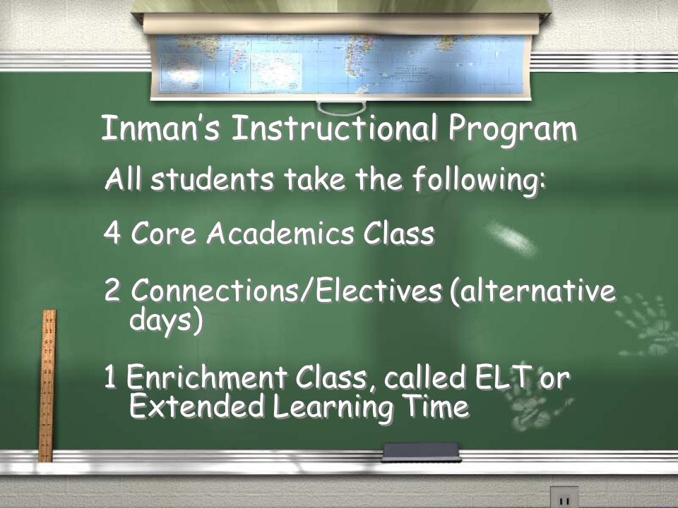 Inman's Instructional Program
