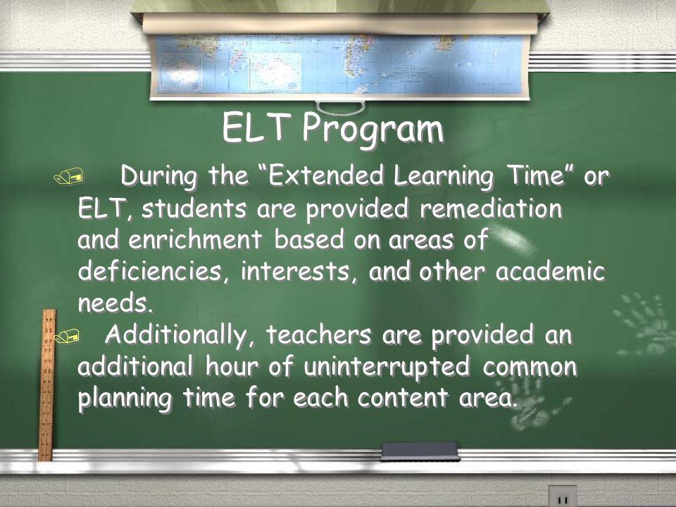 ELT Program