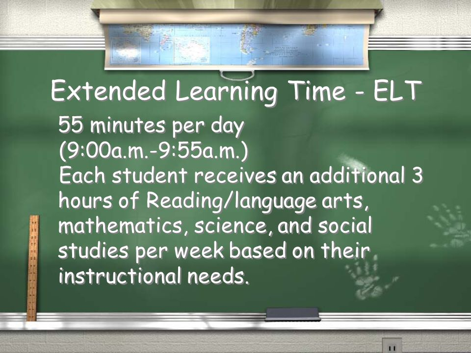 Extended Learning Time - ELT