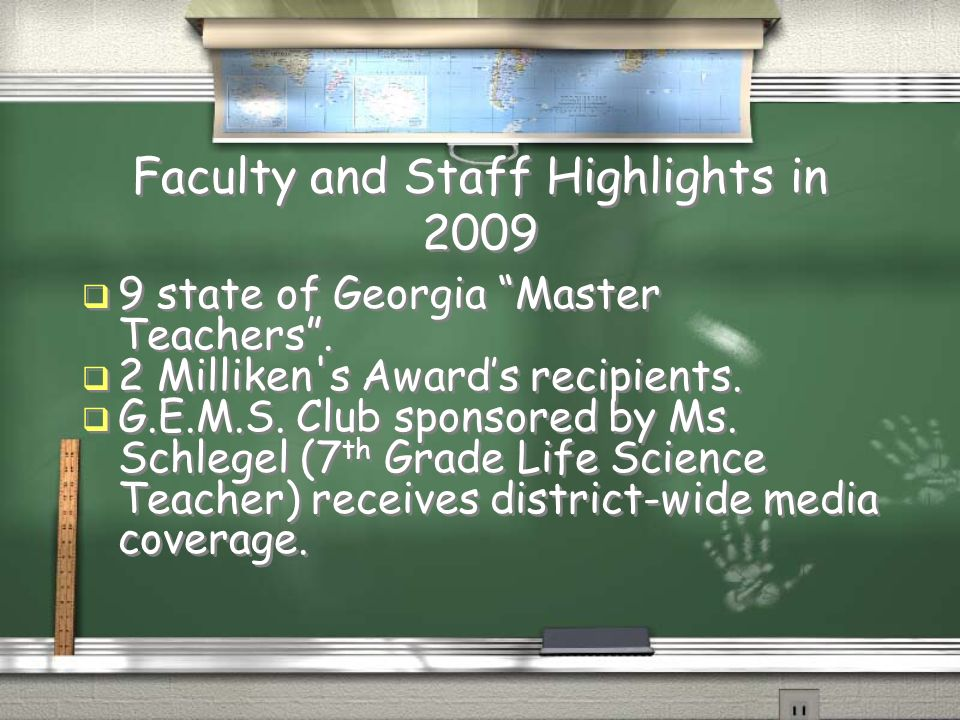 Faculty and Staff Highlights in 2009