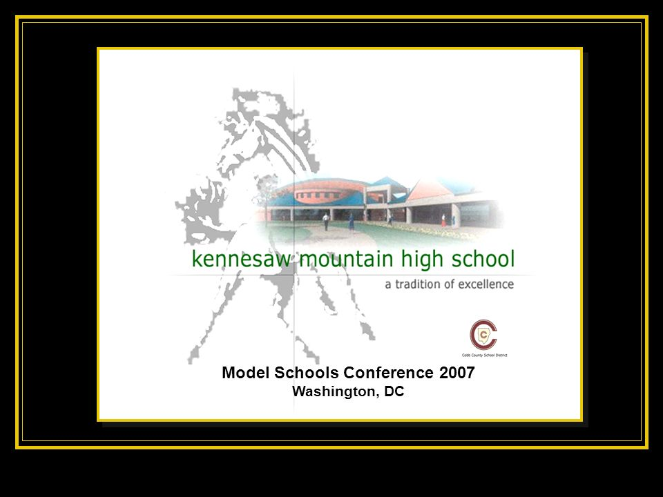 Model Schools Conference 2007