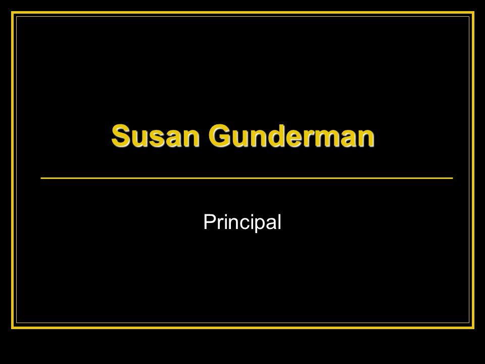 Susan Gunderman Principal