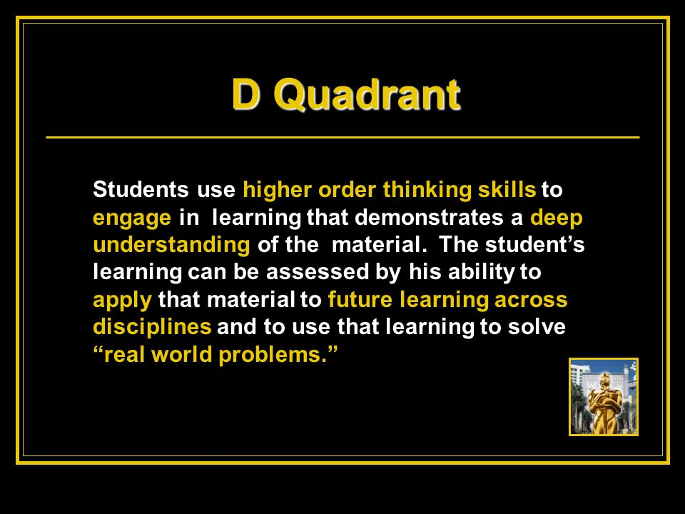 D Quadrant