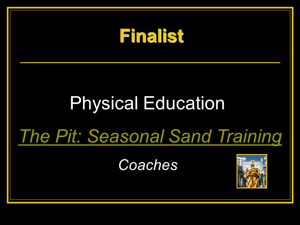 The Pit: Seasonal Sand Training