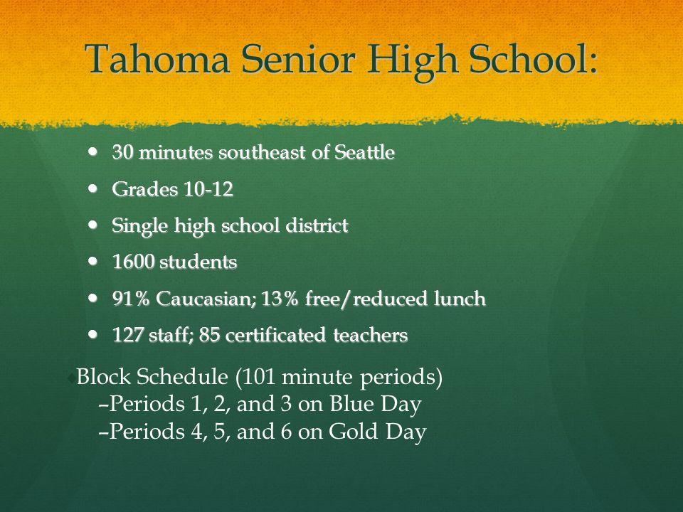 Tahoma Senior High School: