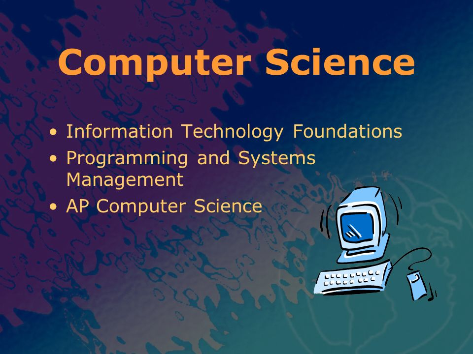 Computer Science Information Technology Foundations
