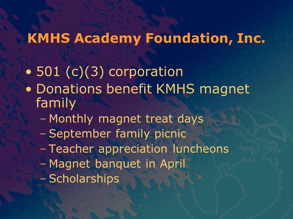 KMHS Academy Foundation, Inc.
