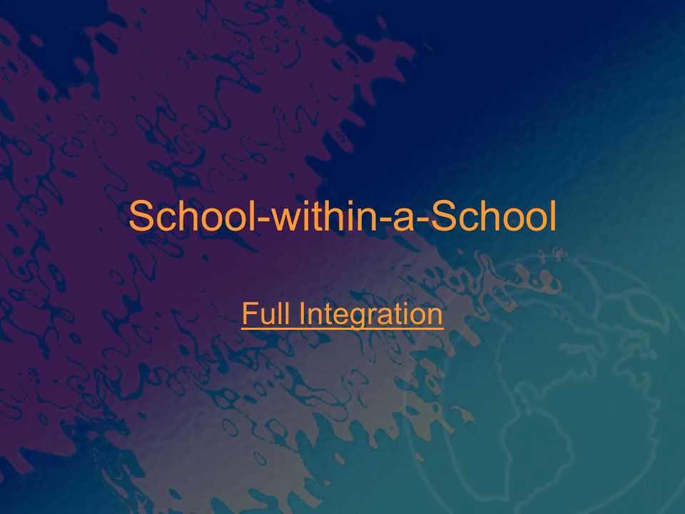 School-within-a-School
