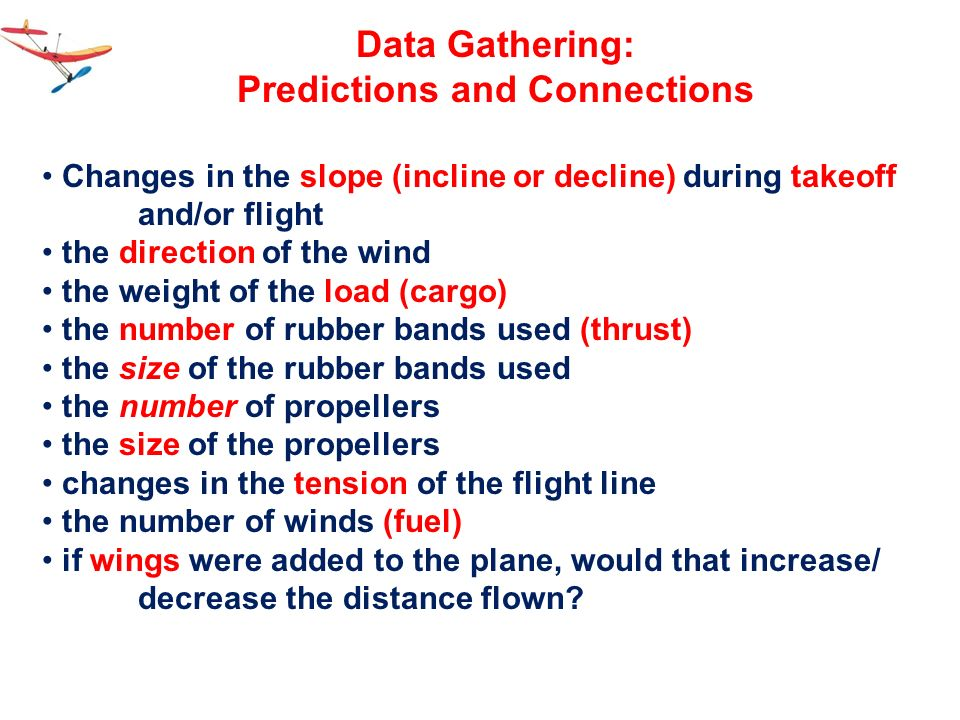 Predictions and Connections