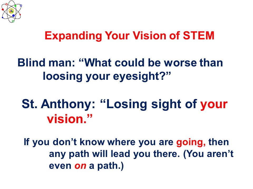 Expanding Your Vision of STEM