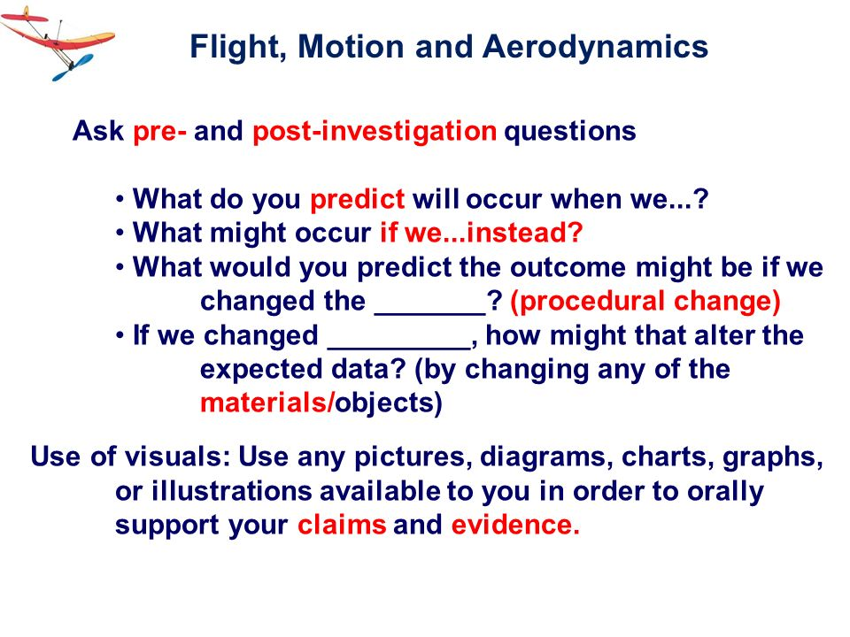 Flight, Motion and Aerodynamics