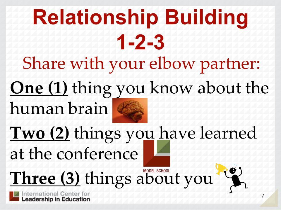 Relationship Building 1-2-3