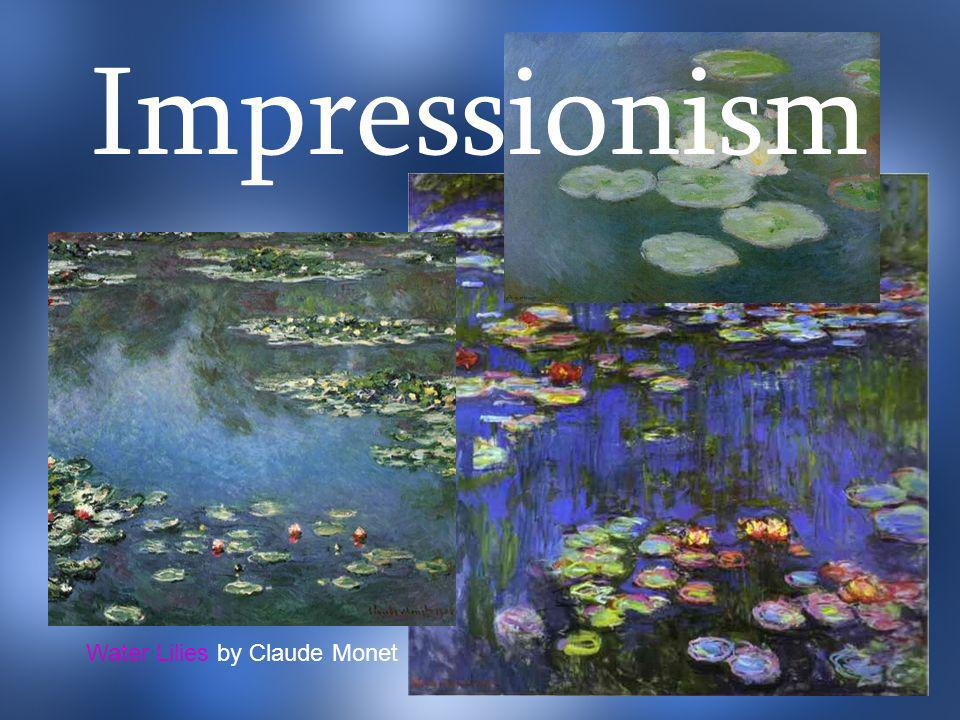 Impressionism Water Lilies by Claude Monet