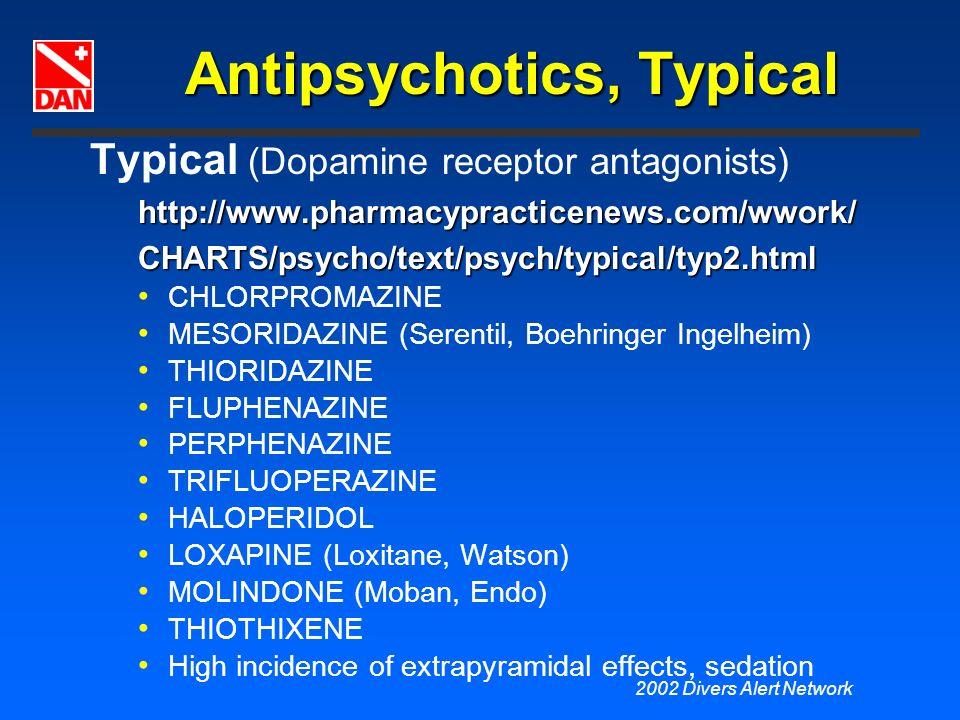 Antipsychotics, Typical