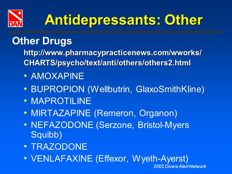 Antidepressants: Other
