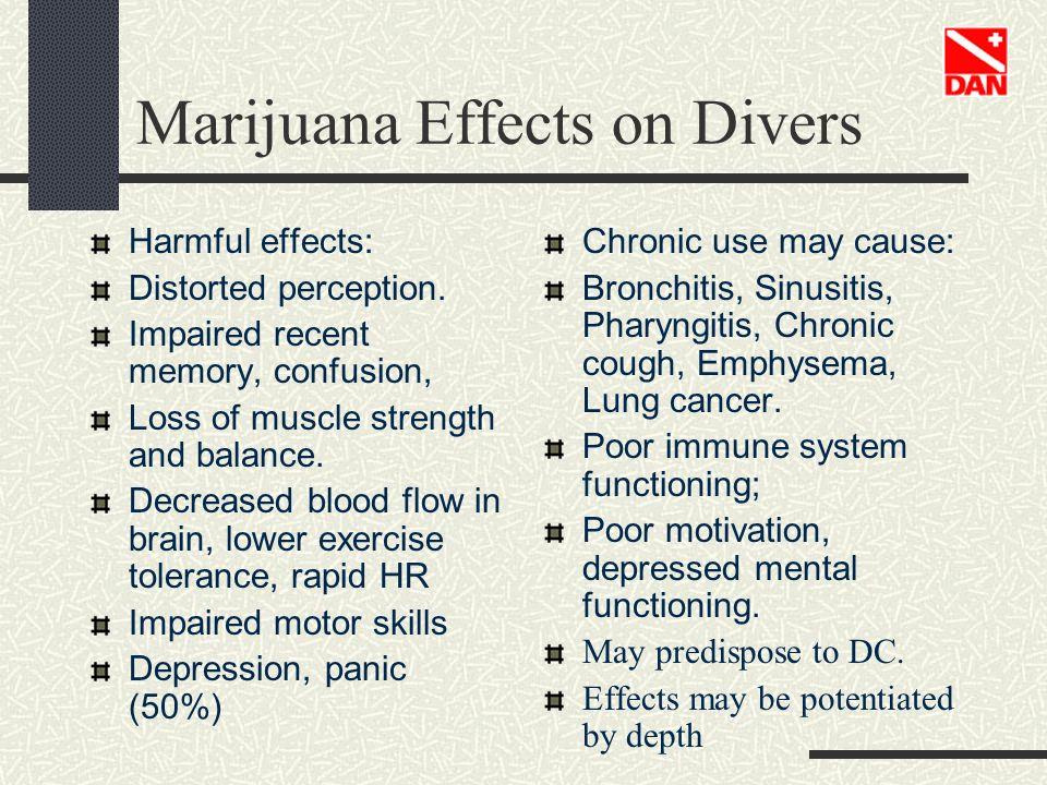 Marijuana Effects on Divers