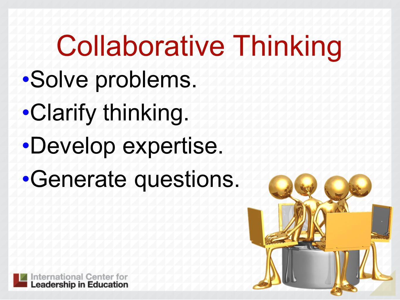 Collaborative Thinking