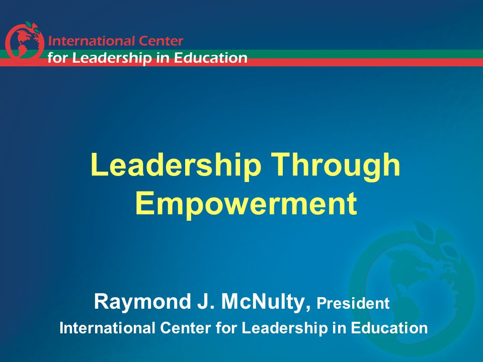 Leadership Through Empowerment
