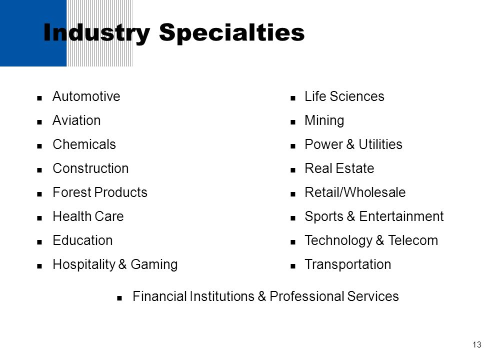 Industry Specialties Automotive Aviation Chemicals Construction