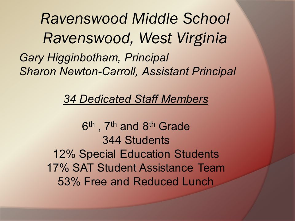 Ravenswood Middle School Ravenswood, West Virginia