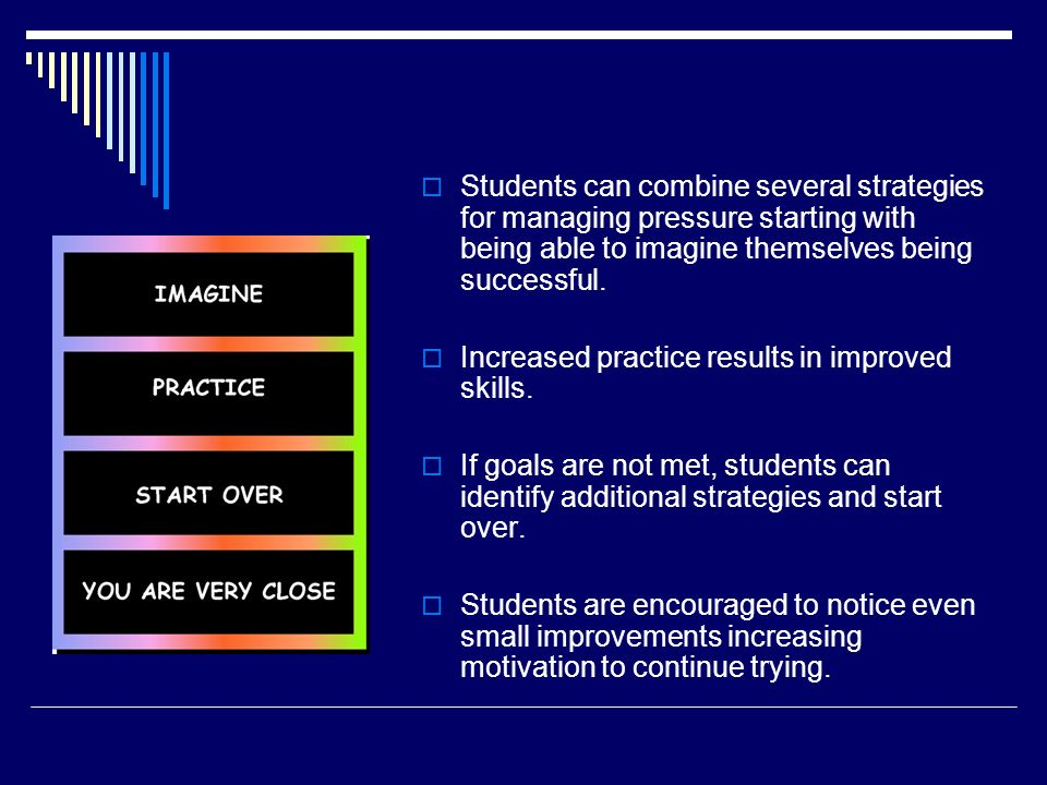 Increased practice results in improved skills.