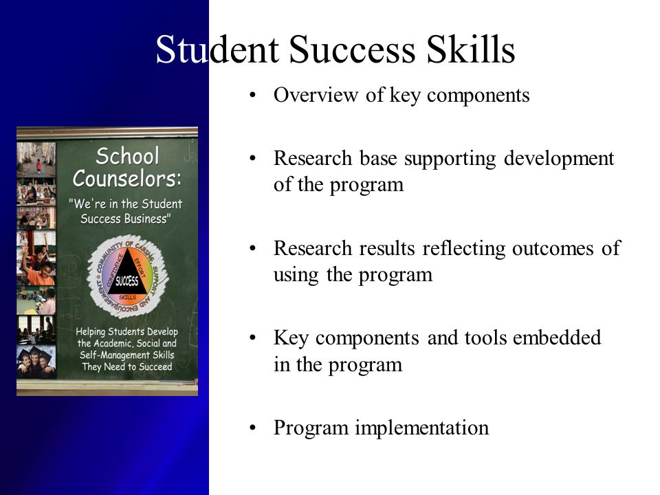 Student Success Skills