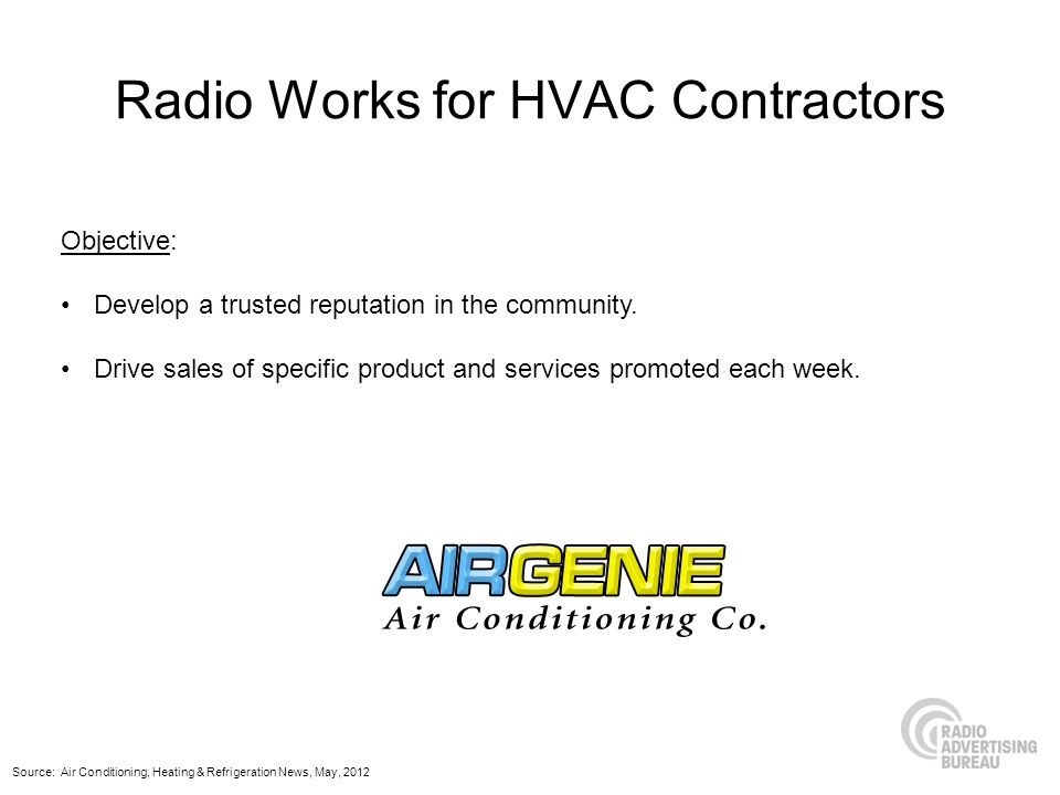 Radio Works for HVAC Contractors