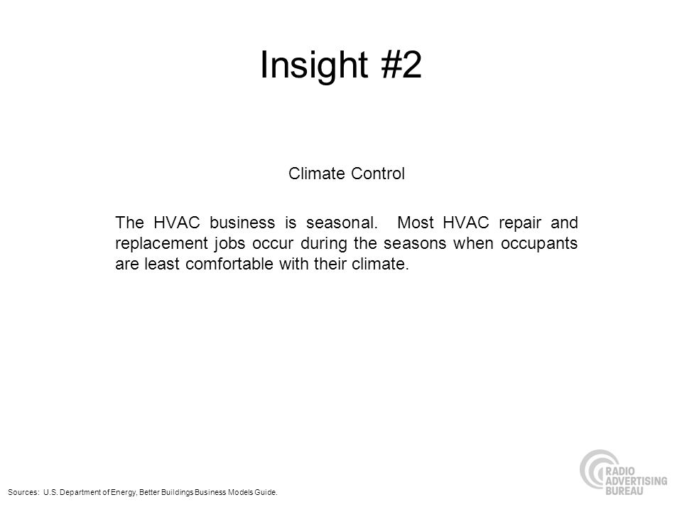 Insight #2 Climate Control