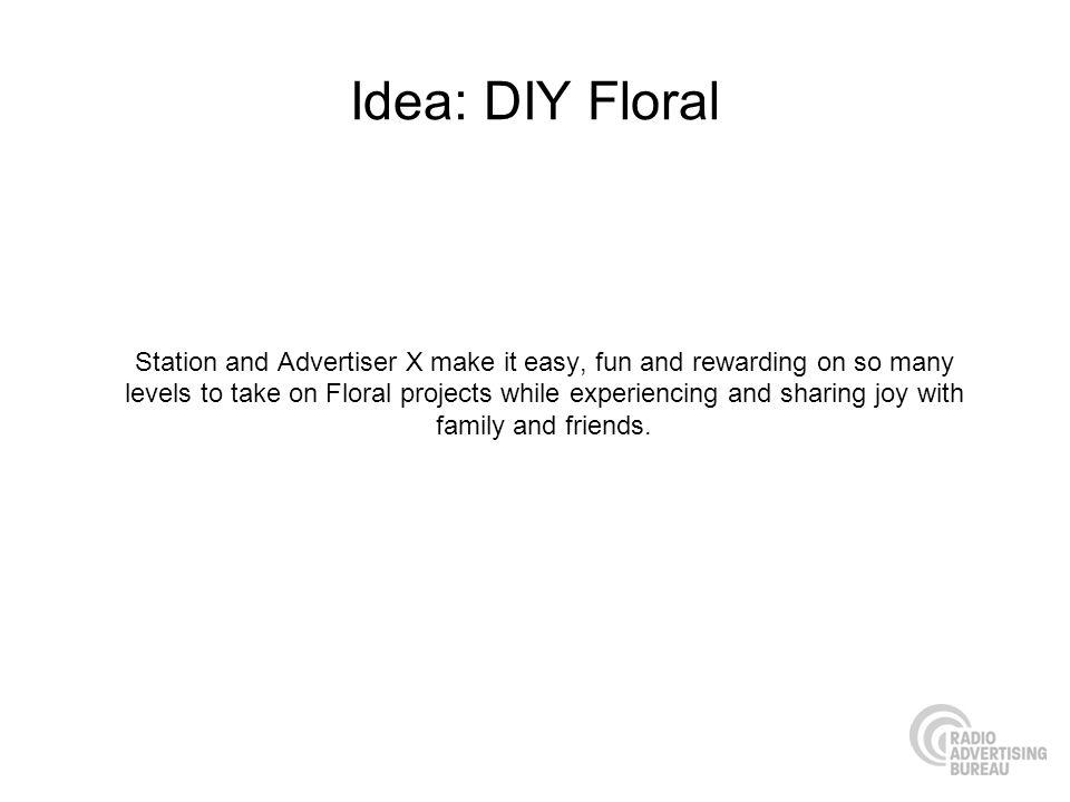 Idea: DIY Floral