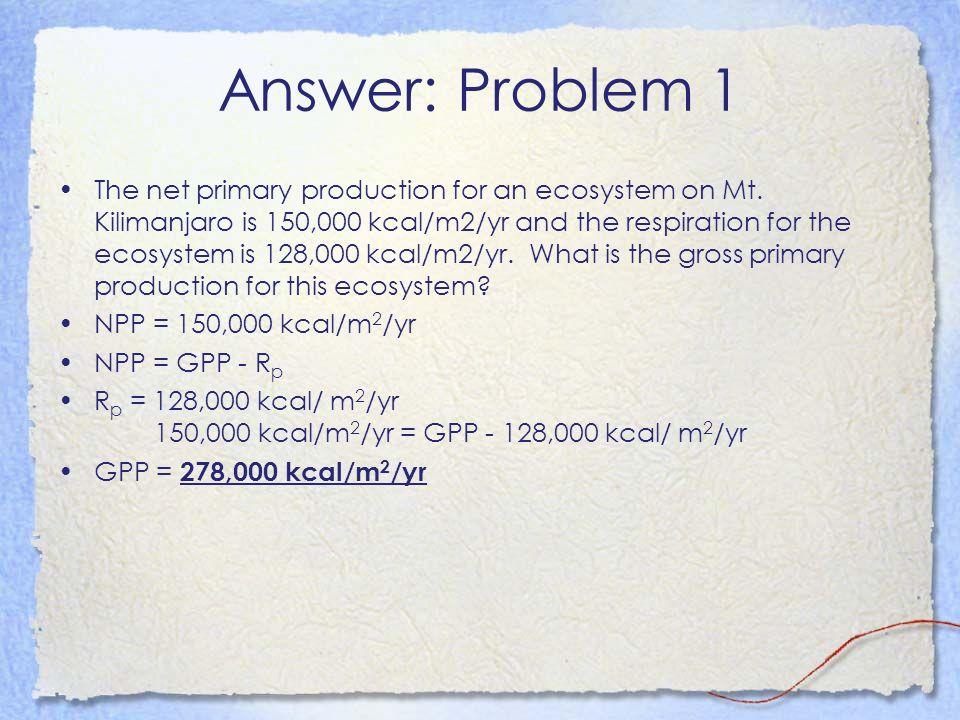 Answer: Problem 1