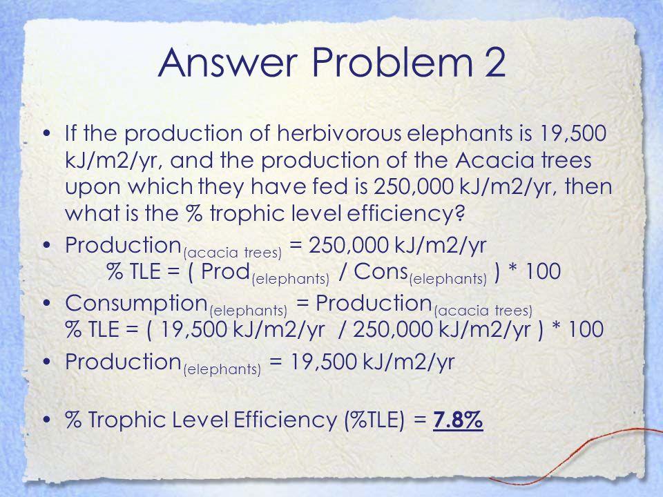 Answer Problem 2
