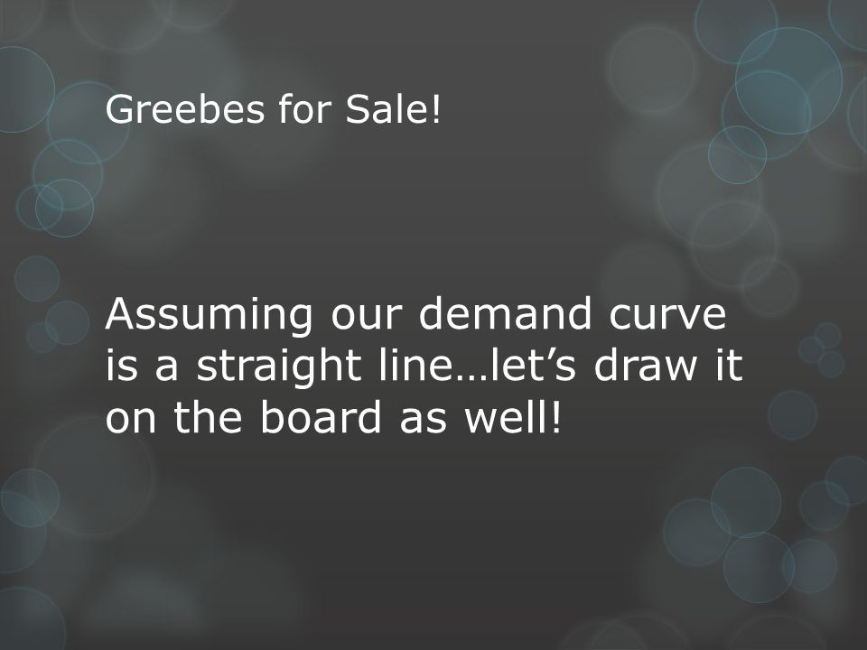 Greebes for Sale.