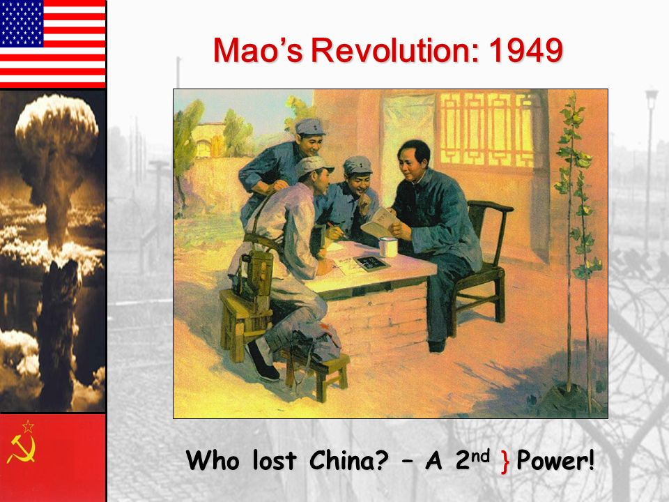 Who lost China – A 2nd } Power!