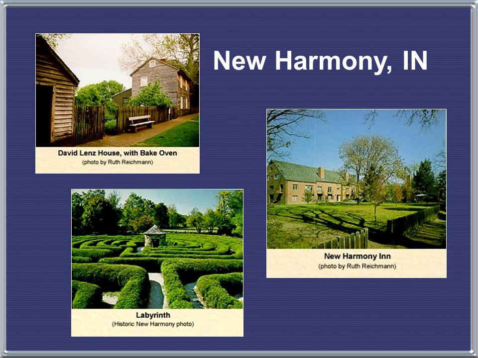 New Harmony, IN
