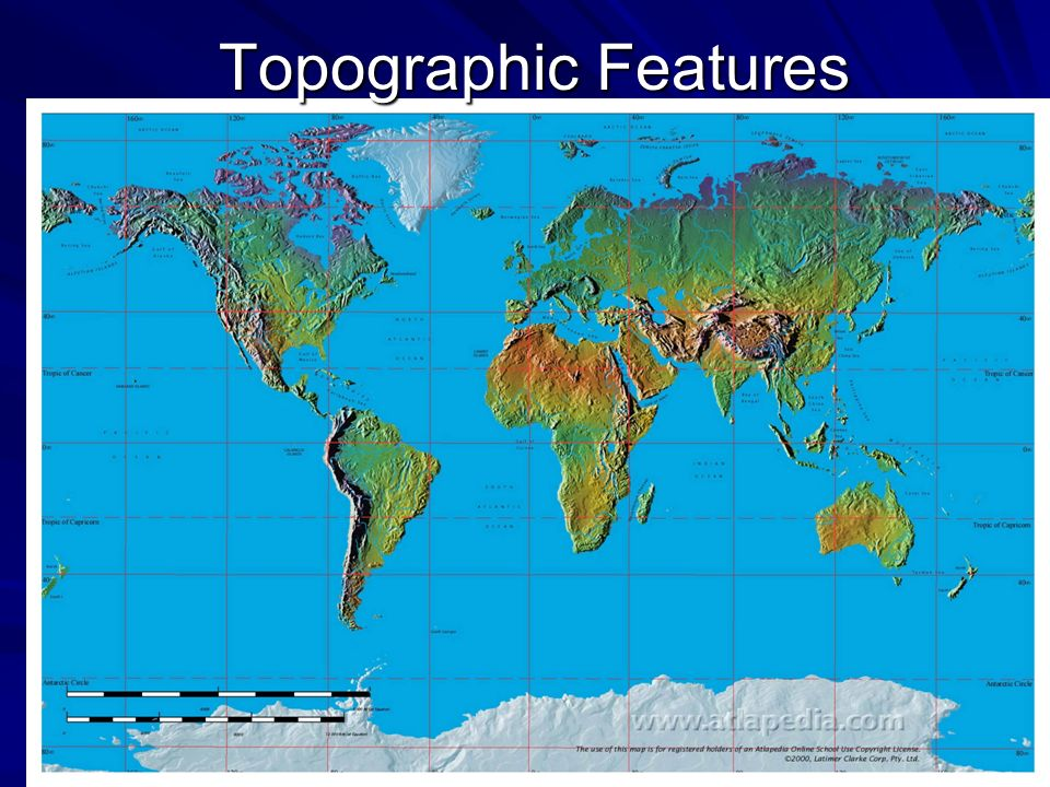 Topographic Features