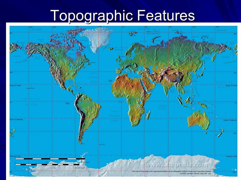 Topographic Features