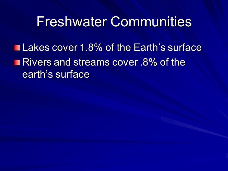 Freshwater Communities