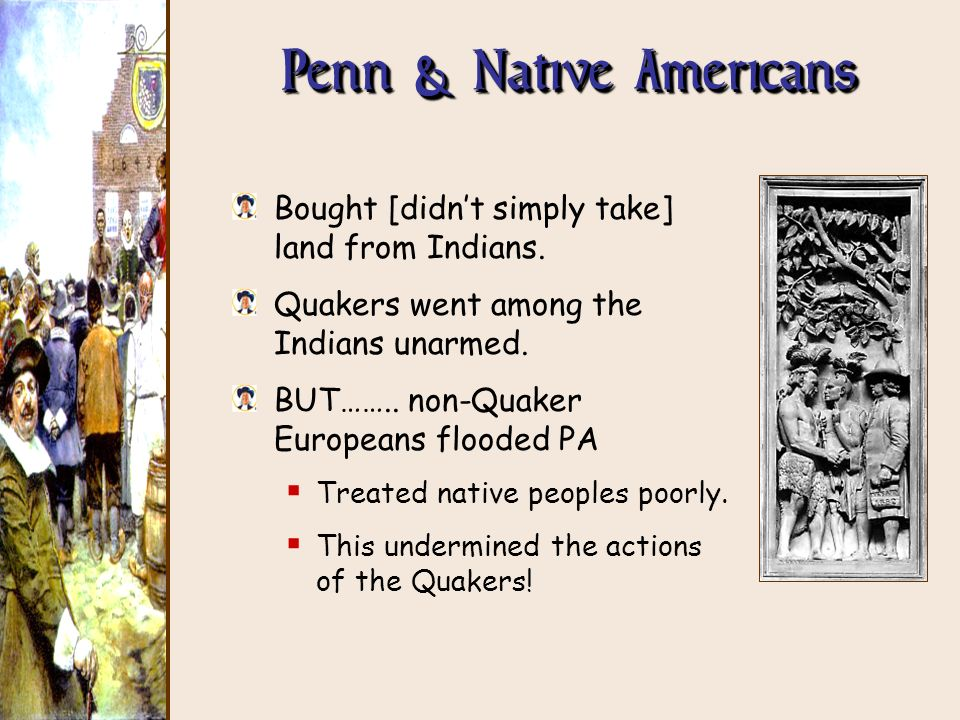 Penn & Native Americans