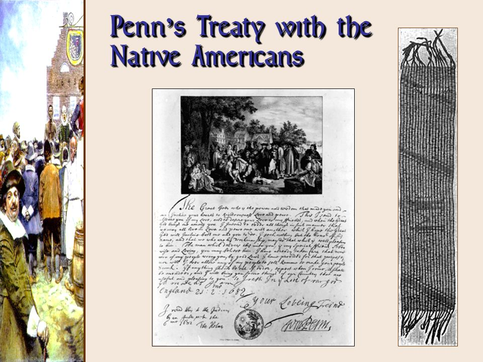 Penn's Treaty with the Native Americans
