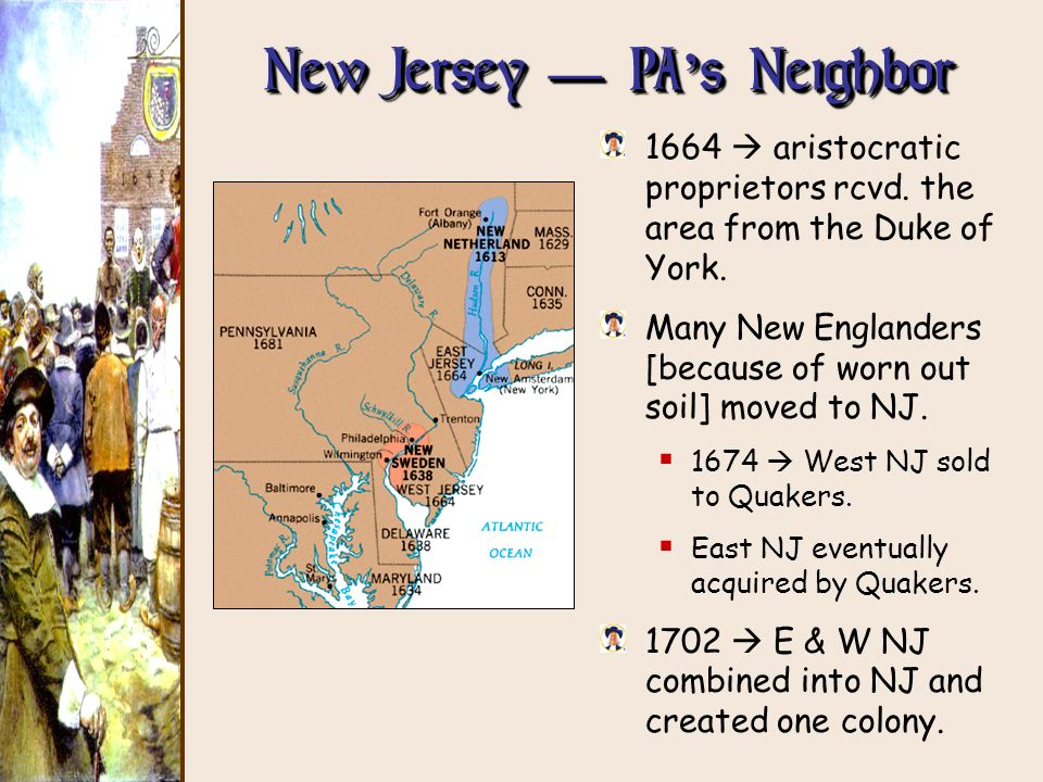 New Jersey — PA's Neighbor
