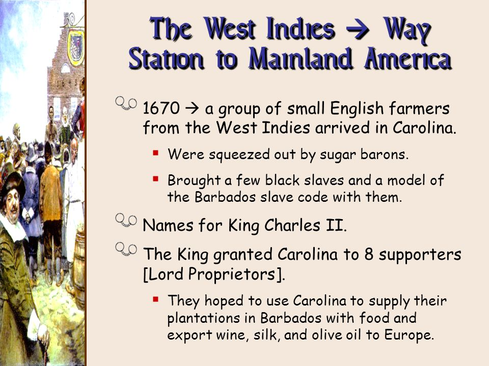 The West Indies  Way Station to Mainland America