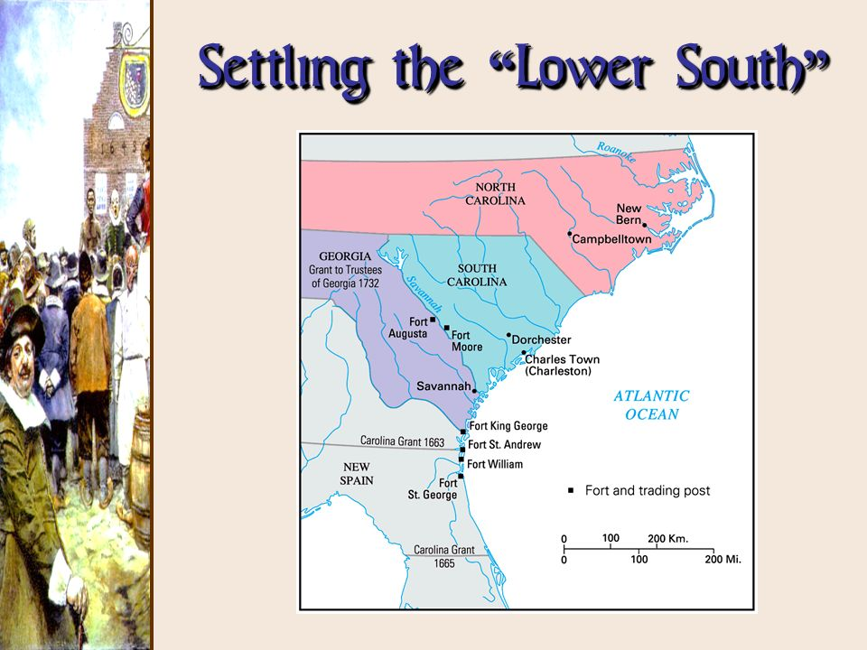 Settling the Lower South