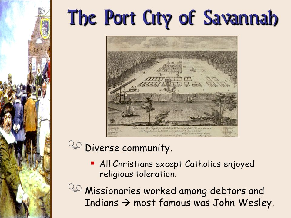 The Port City of Savannah