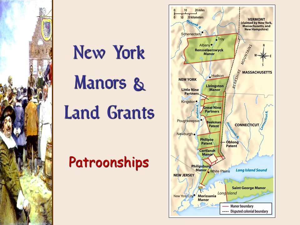 New York Manors & Land Grants Patroonships