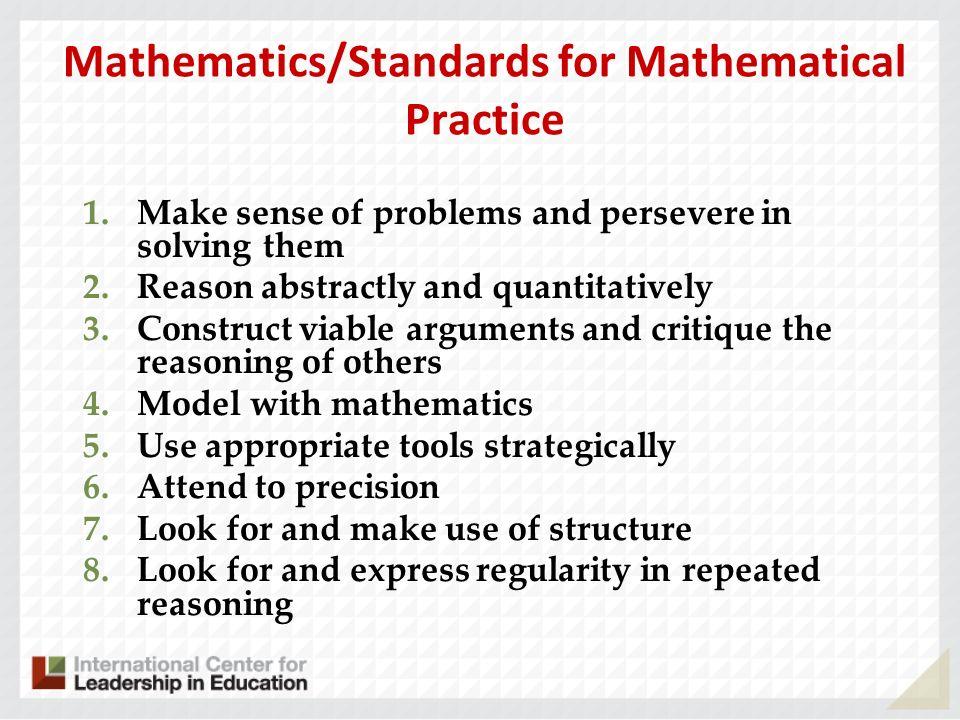 Mathematics/Standards for Mathematical Practice