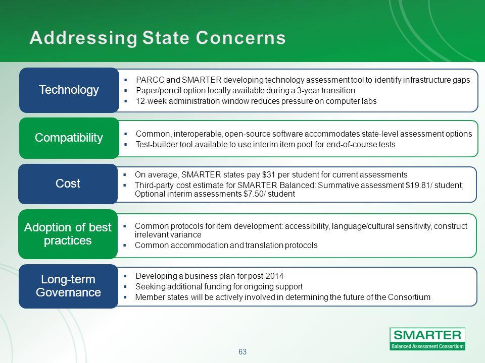 Addressing State Concerns