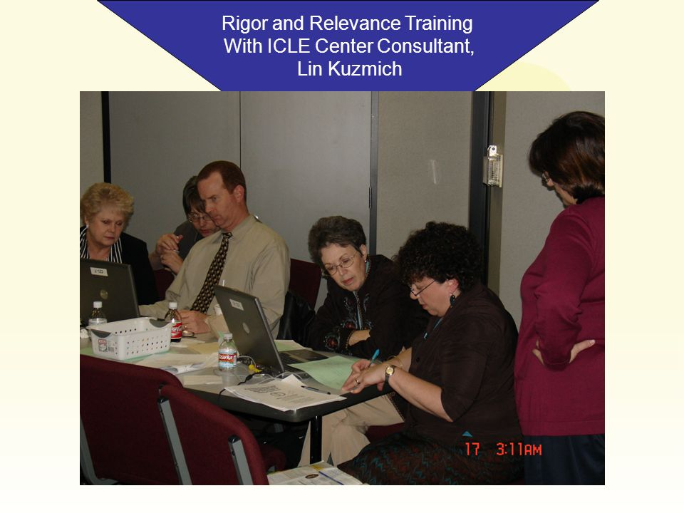 Rigor and Relevance Training With ICLE Center Consultant, Lin Kuzmich