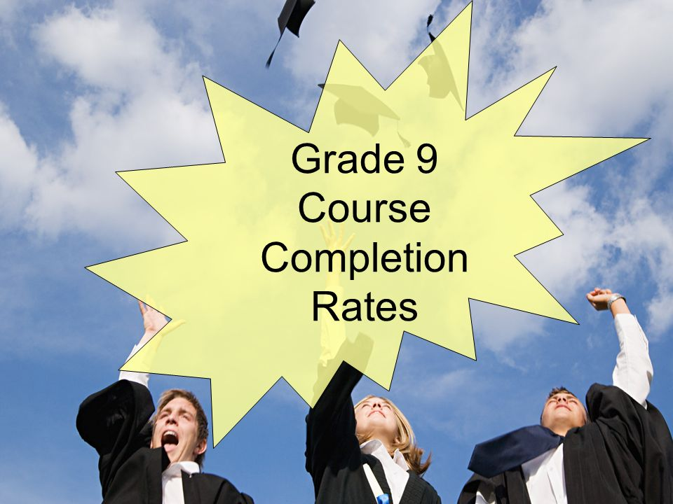 Grade 9 Course Completion Rates